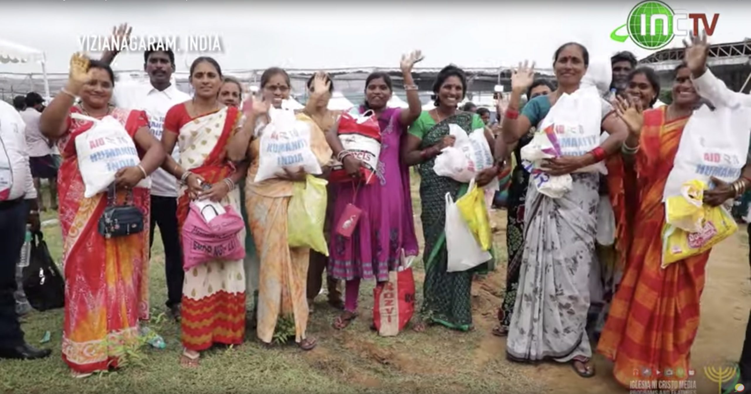 25,000 Care Packages Given; Day Three of Aid to Humanity in India