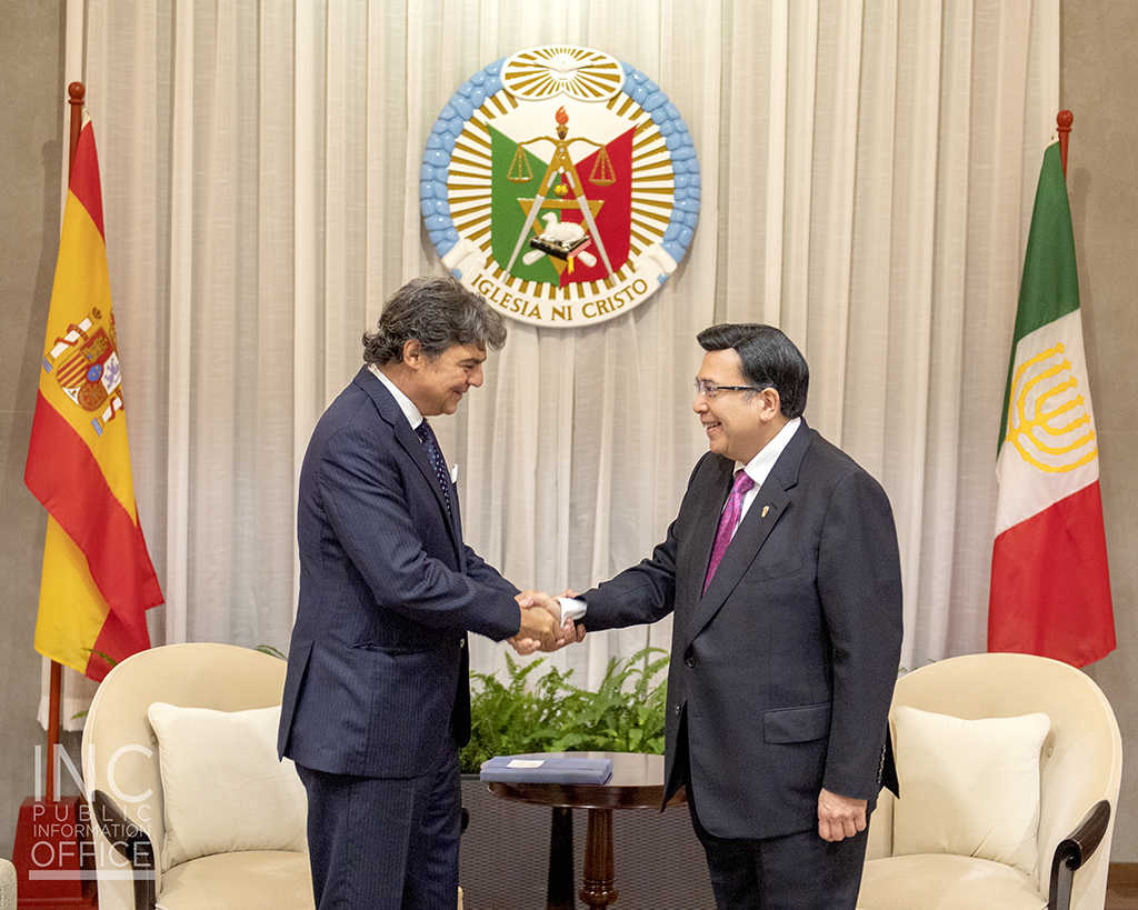 Spanish Ambassador to the Philippines visits INC Executive Minister
