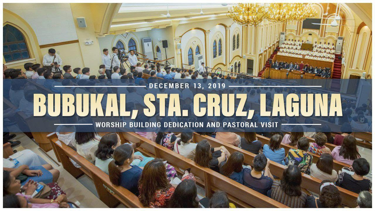 Pastoral Visitation and House of Worship Dedication in Bubukal, Sta. Cruz Laguna
