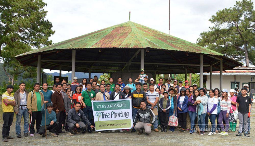 Brethren in Mountain Province repopulate trees