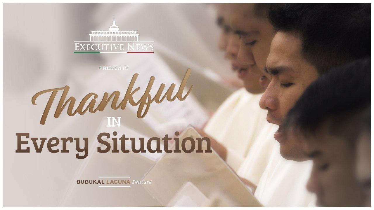 THANKFUL IN EVERY SITUATION | Bubukal, Sta. Cruz