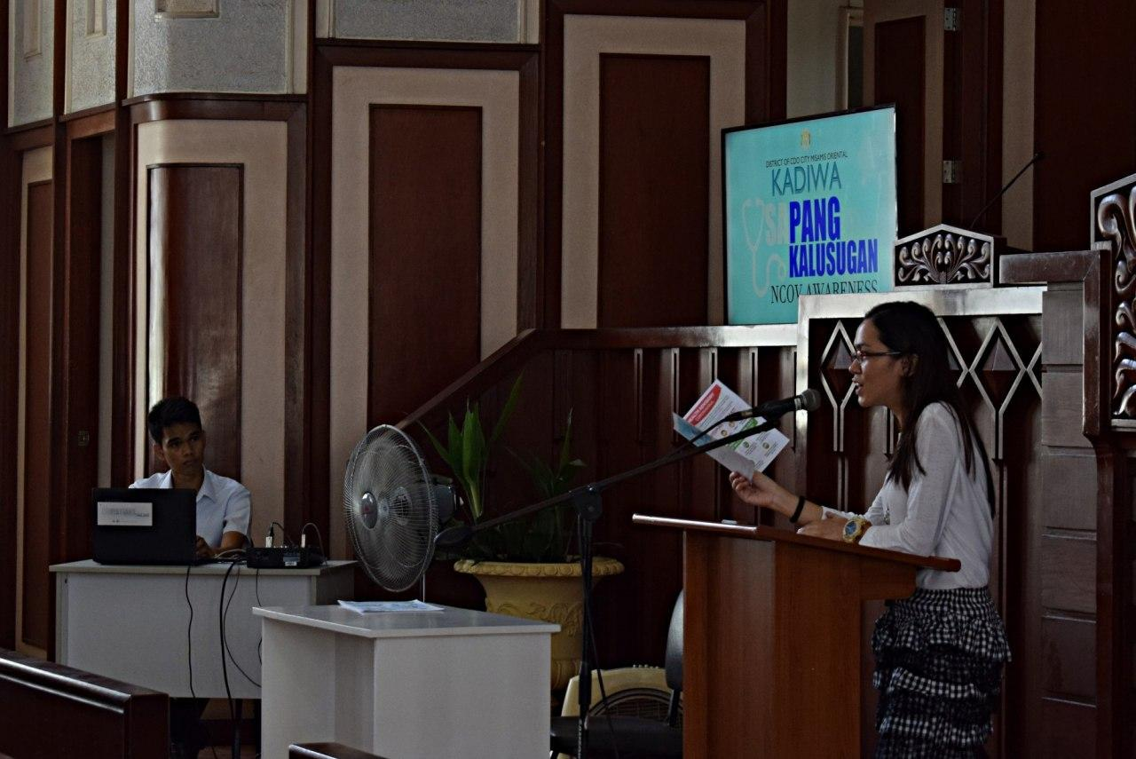 Cagayan de Oro City Congregation ups awareness on COVID-19 week before quarantine