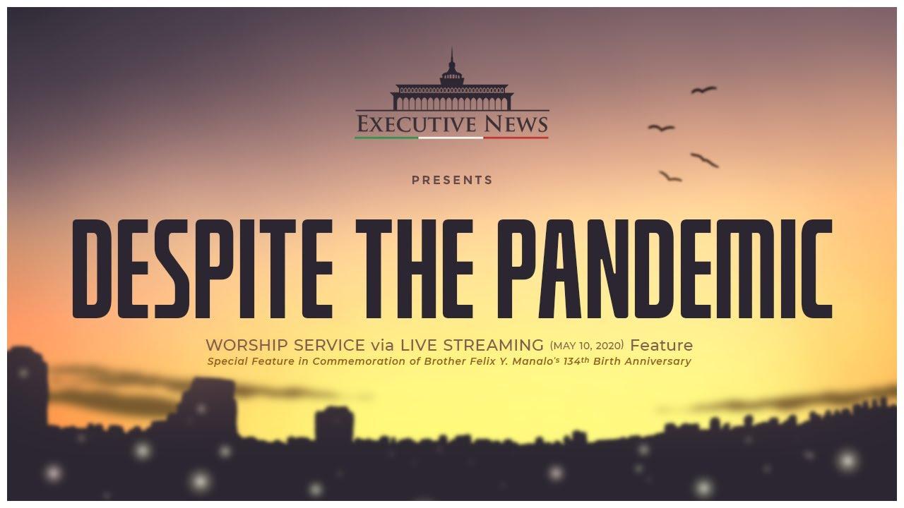 DESPITE THE PANDEMIC