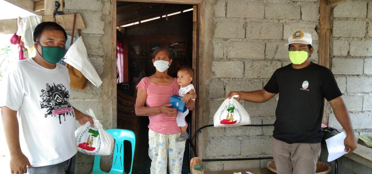 Northern Luzon districts receive aid