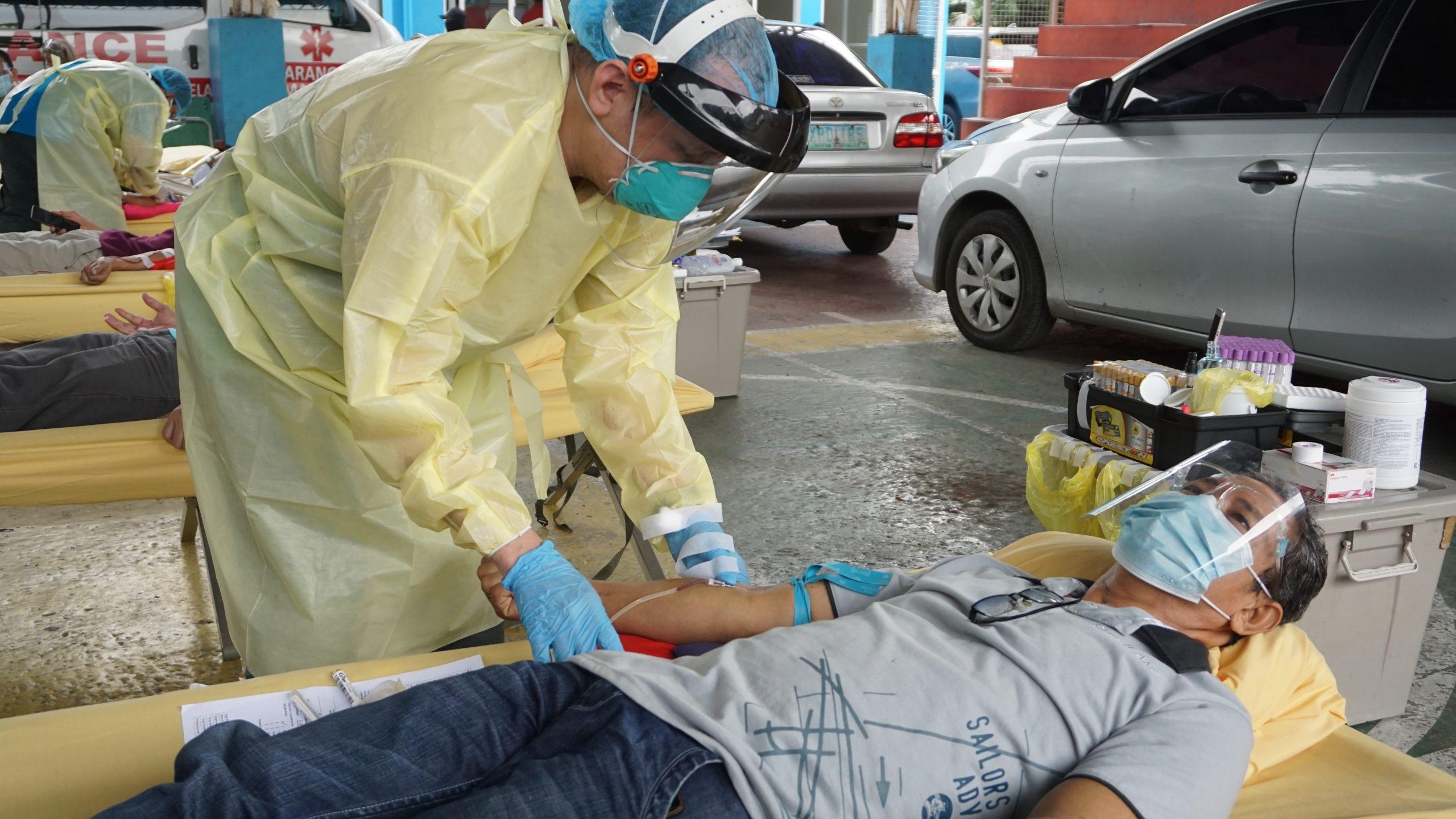 CAMANAVA continues donating blood