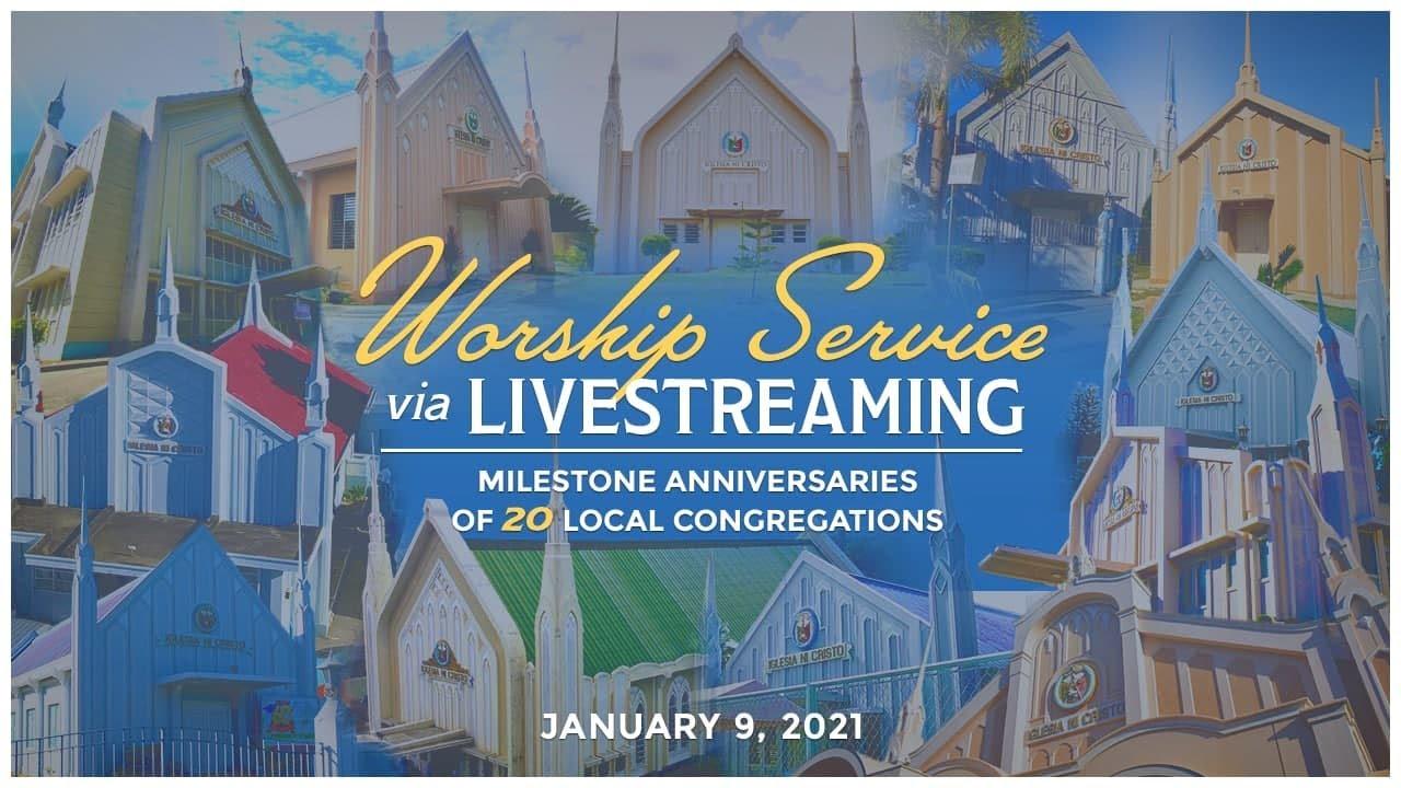 20 local congregations of the Church Of Christ commemorate milestone anniversaries