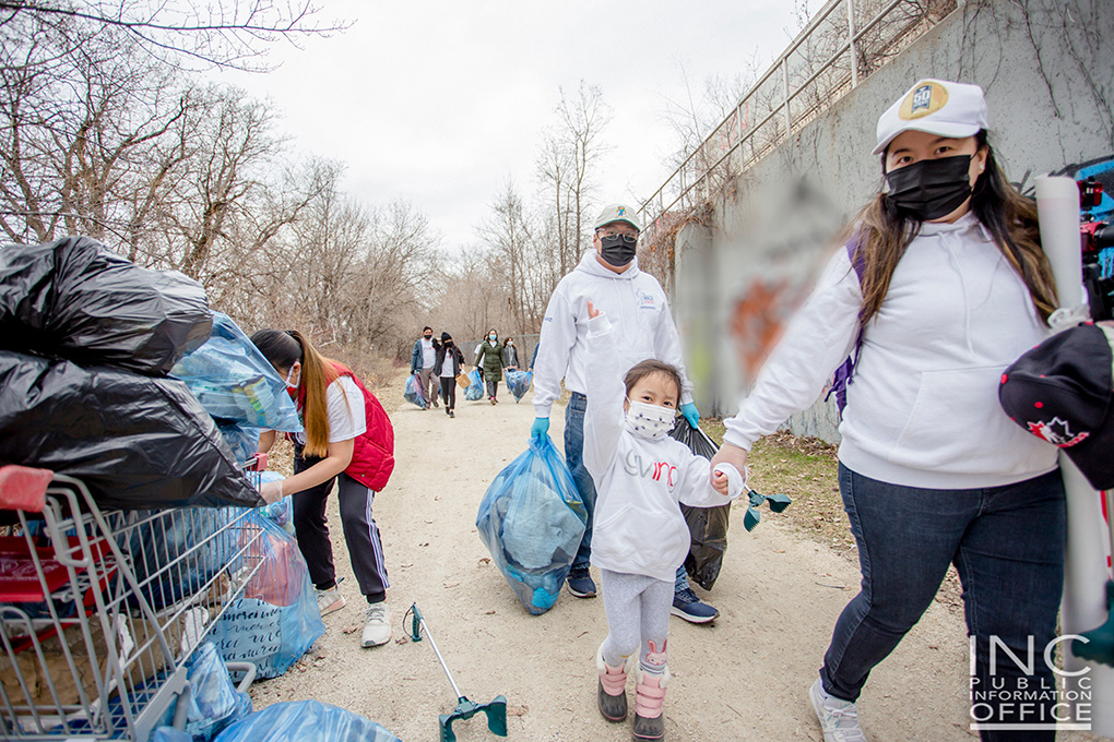 Winnipeg benefits from clean up initiative; 100 large bags of litter disposed