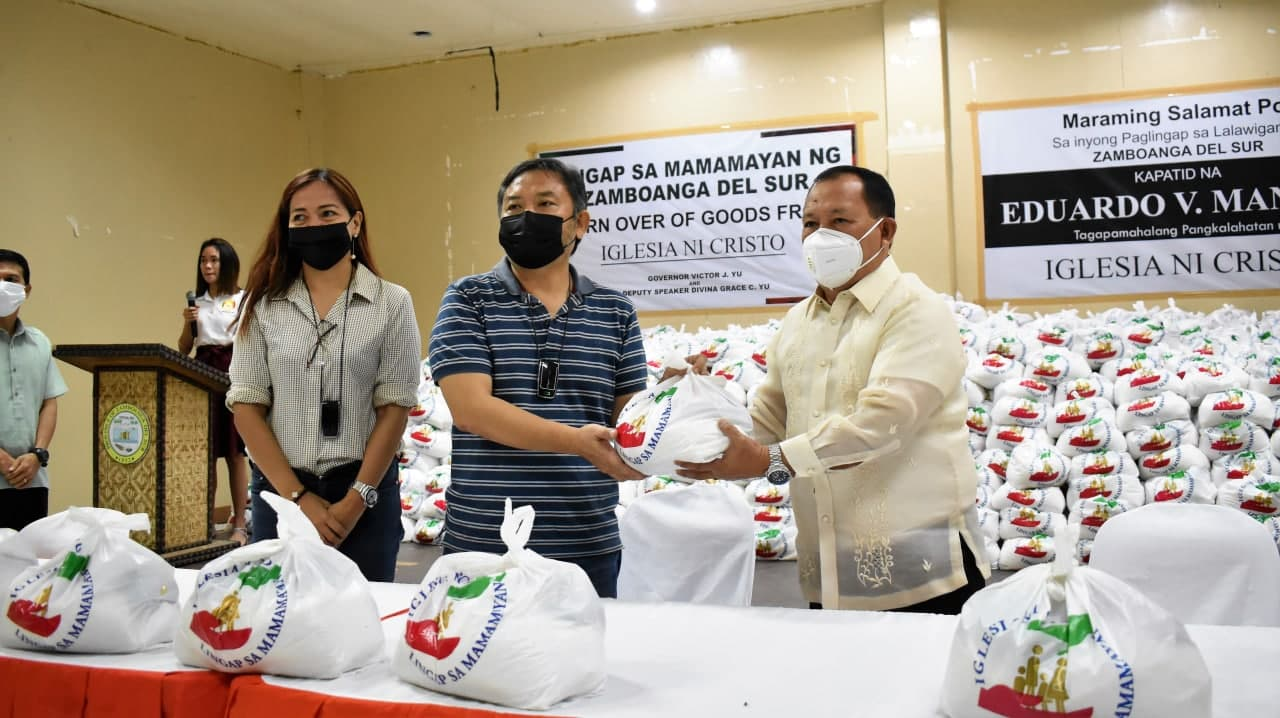 INC in Zamboanga del Sur donates 2,000 relief packages