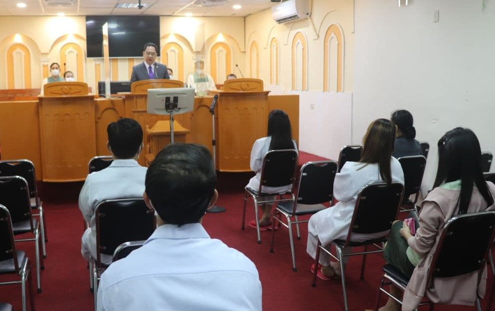 Baptism of new Church members in Taiwan continues