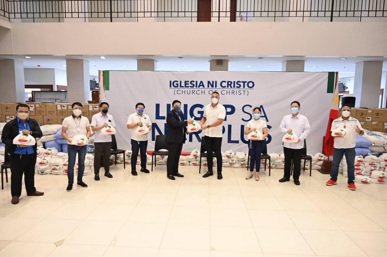 Iglesia Ni Cristo distributes food assistance to Metro Manila, other areas under MECQ