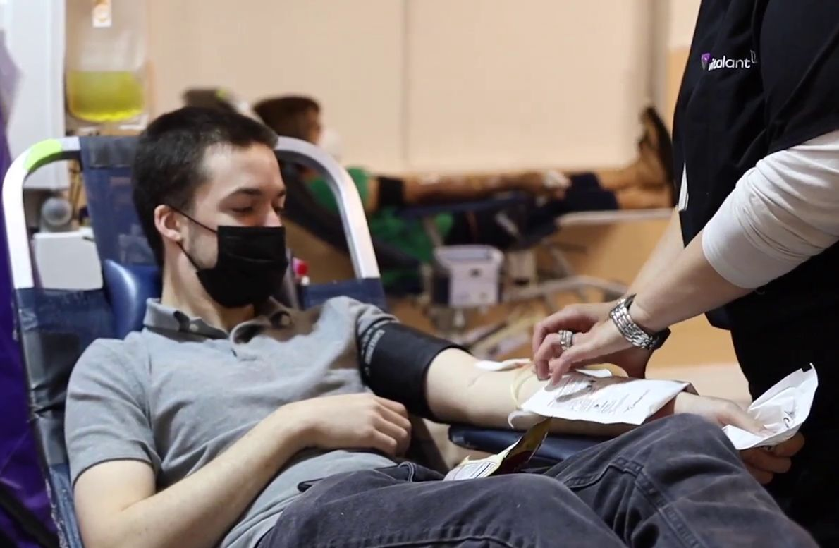 Brethren in Mountain States show care for others through blood donation