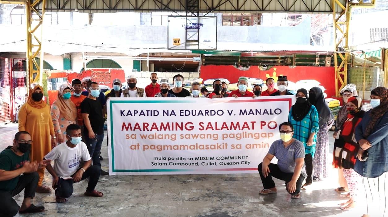 INC extends aid to Muslim communities in Metro Manila