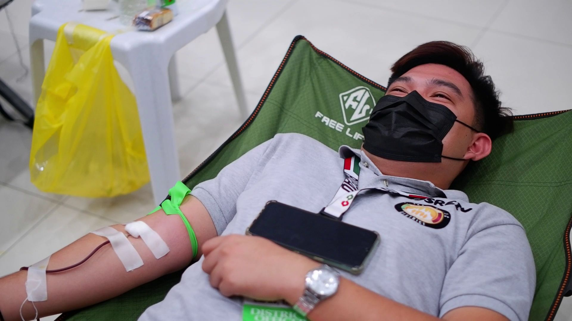 Ecclesiastical District of Capas, Tarlac conducts blood donation