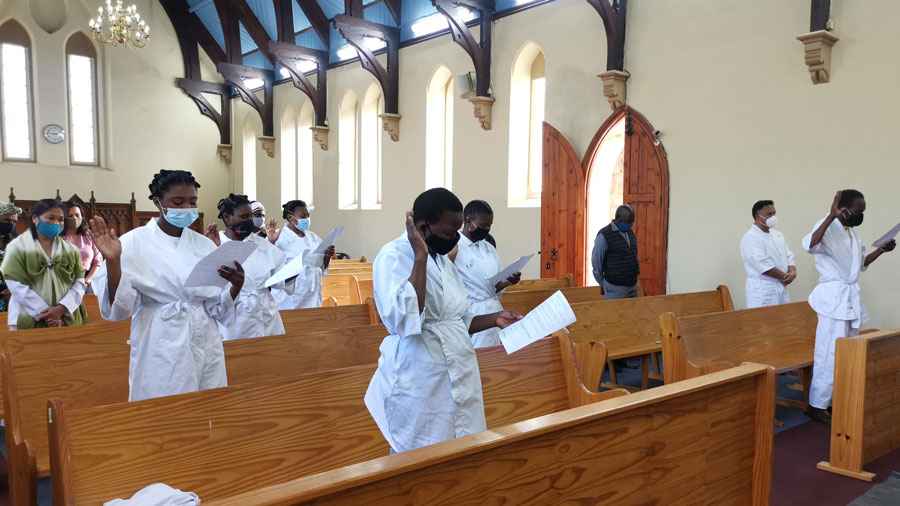 Hundreds receive baptism in Southern Africa