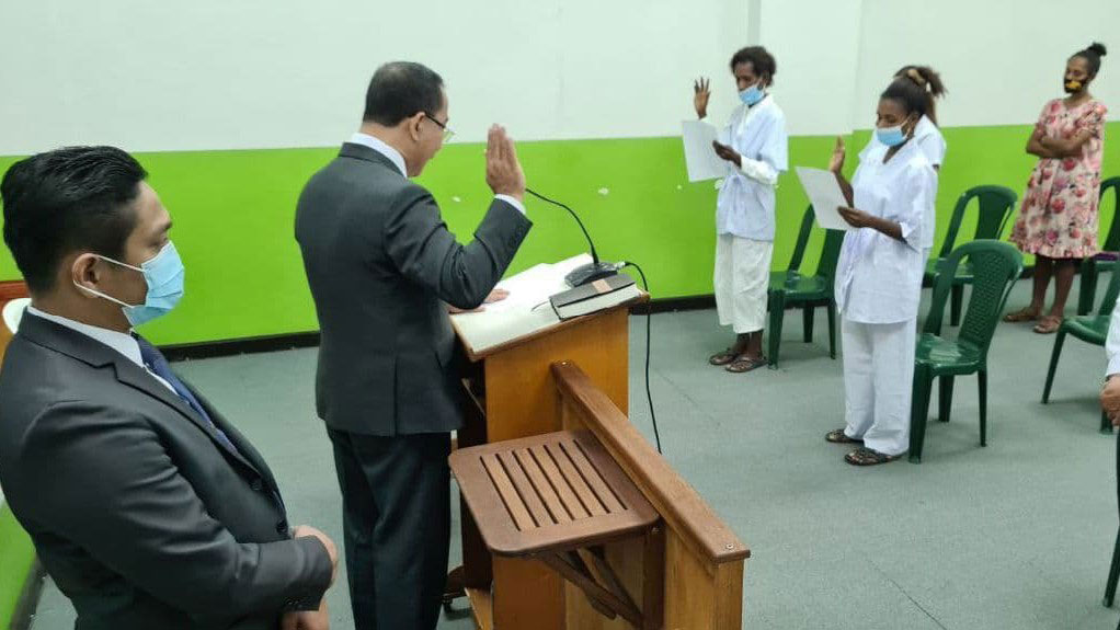 Another series of baptisms held in Papua New Guinea
