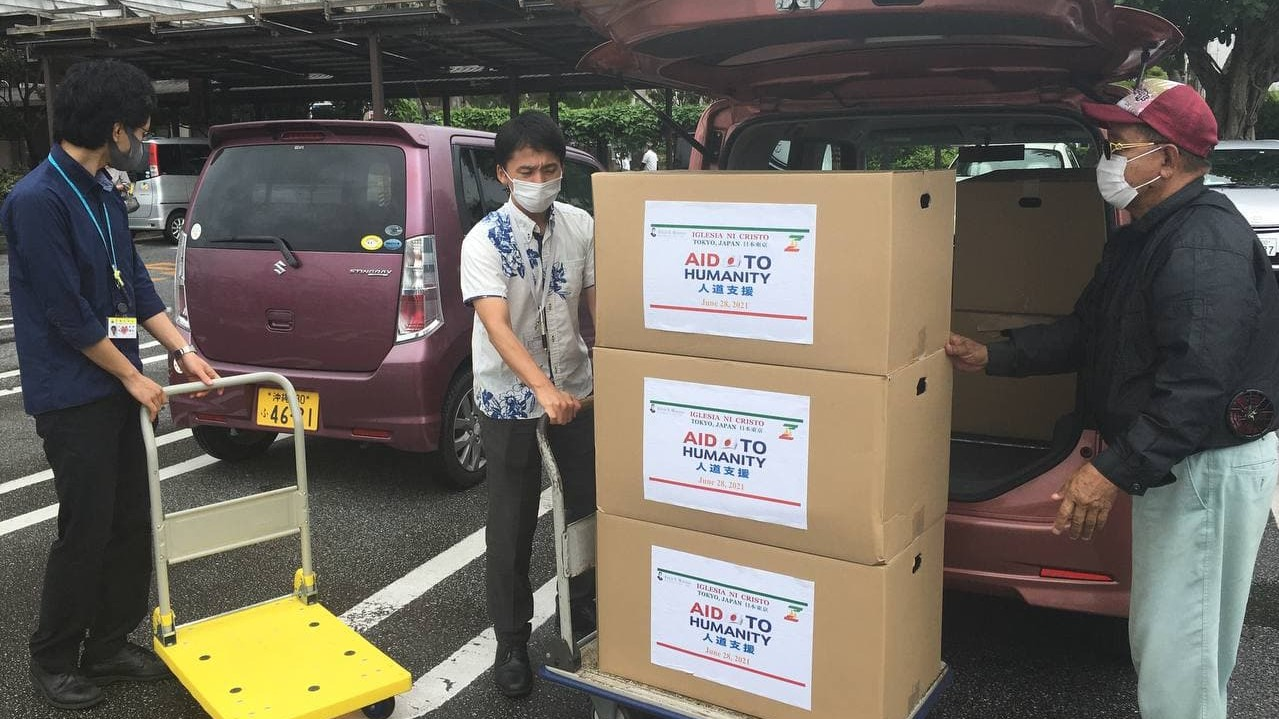 Okinawa Congregation holds Aid to Humanity