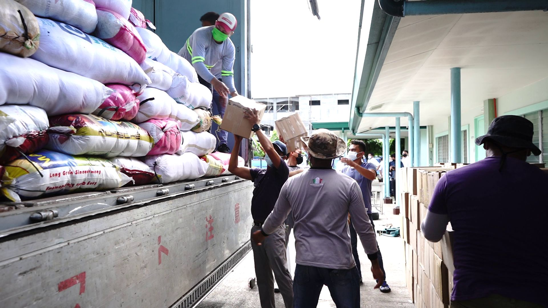 INC sends aid to evacuees from Taal Volcano unrest