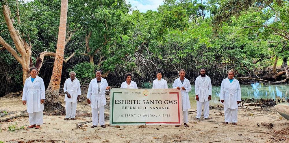 Membership in Espiritu Santo GWS in Vanuatu continues to flourish