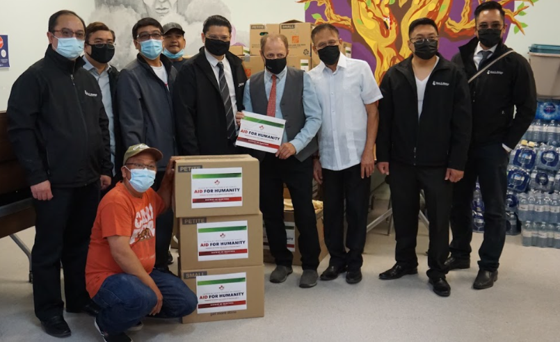 Aid to Humanity held in Manitoba and Edmonton