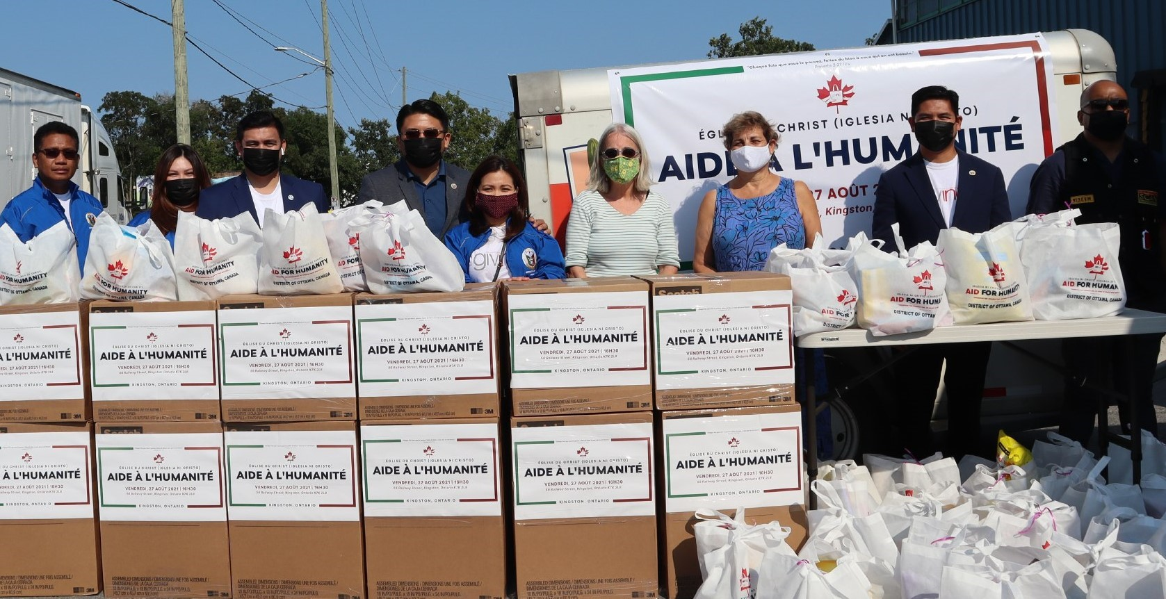 Iglesia Ni Cristo brings aid to First Nations communities in Canada