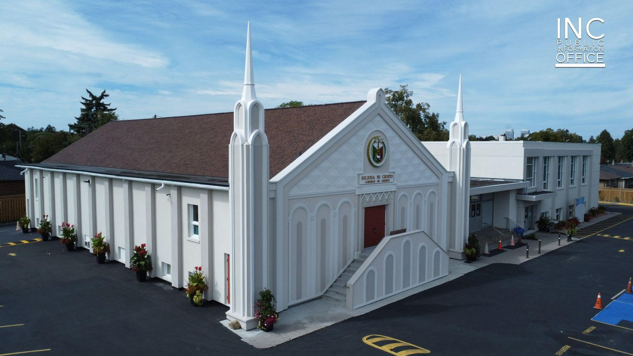 Iglesia Ni Cristo (INC) completes renovation, rededicates worship building in Scarborough, Ontario amid pandemic